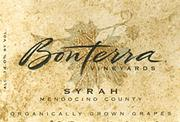 Bonterra Organically Grown Syrah 1995 Front Label