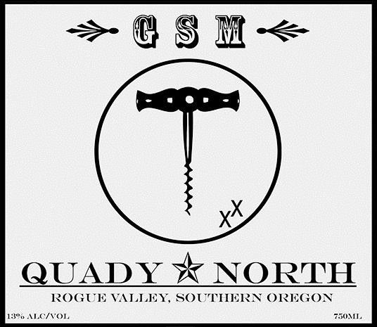 Quady North GSM 2013 Front Label