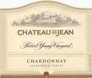 Chateau St. Jean Robert Young Vineyard Chardonnay 2000 Front Label