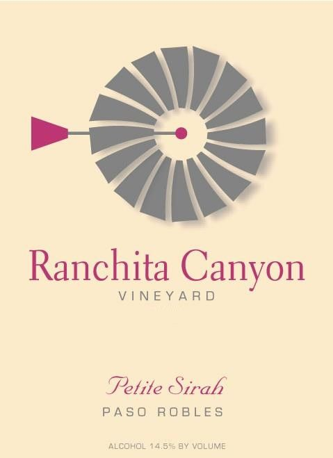 Ranchita Canyon Vineyard Petite Sirah 2011 Front Label