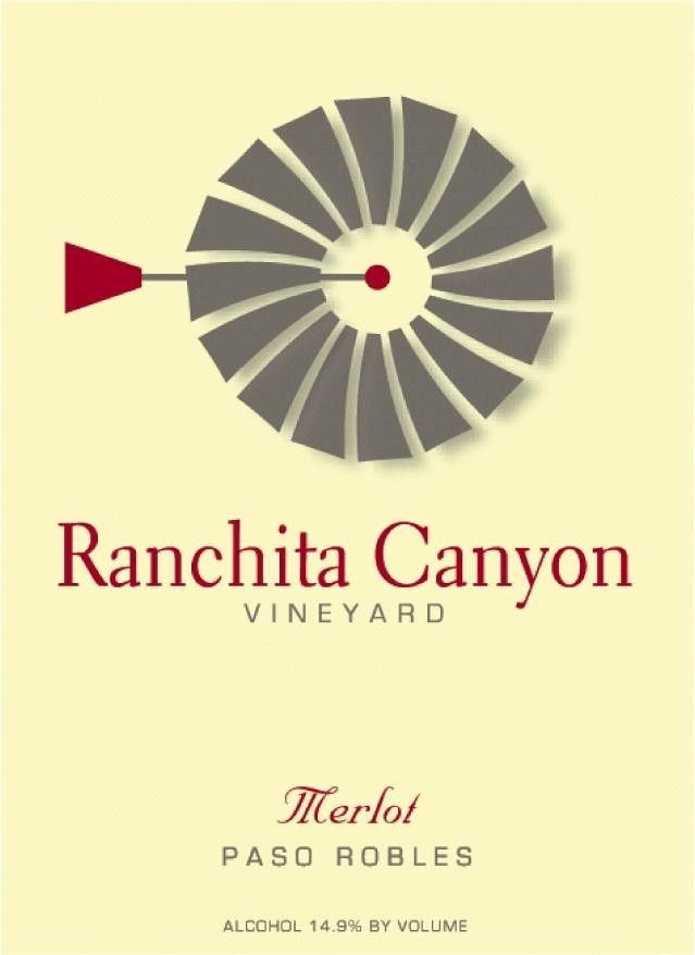 Ranchita Canyon Vineyard Merlot 2011 Front Label