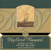 Dry Creek Vineyard Fume Blanc (half-bottle) 2001 Front Label