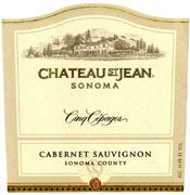 Chateau St. Jean Cinq Cepages 1999 Front Label