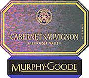 Murphy-Goode California Cabernet Sauvignon (375ML half-bottle) 2000 Front Label