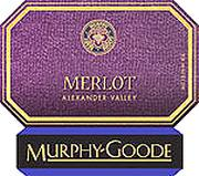 Murphy-Goode Merlot (half-bottle) 2000 Front Label