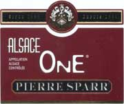 Pierre Sparr Alsace One 2002 Front Label