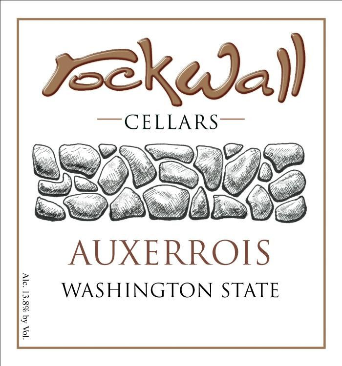 RockWall Cellars Auxerrois 2012 Front Label
