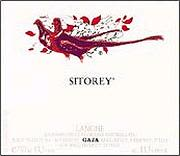 Gaja Langhe Rosso Sitorey 1999 Front Label