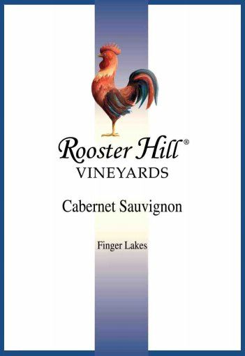 Rooster Hill Vineyards Cabernet Sauvignon 2014 Front Label