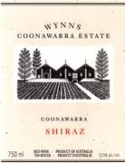 Wynns Coonawarra Estate Shiraz 1996 Front Label