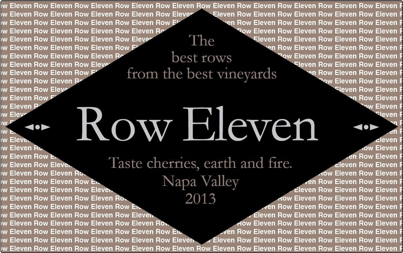 Row Eleven Russian River Pinot Noir 2013 Front Label