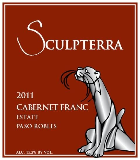 Sculpterra Winery Cabernet Franc 2011 Front Label
