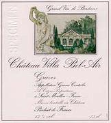 Villa Bel Air (FR) Graves 1999 Front Label