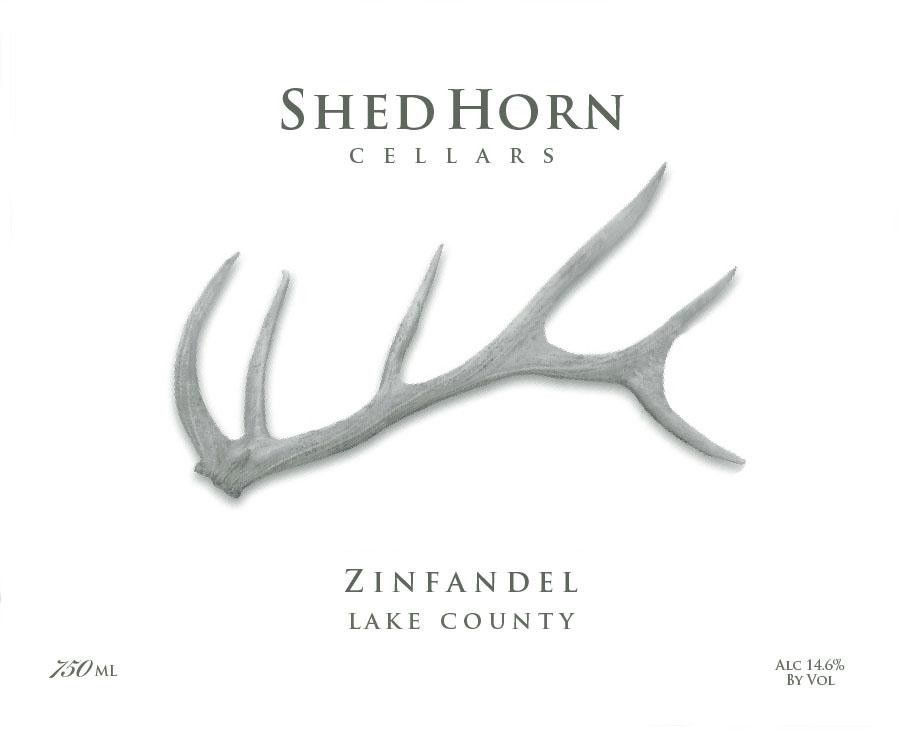 Shed Horn Cellars Zinfandel 2011 Front Label