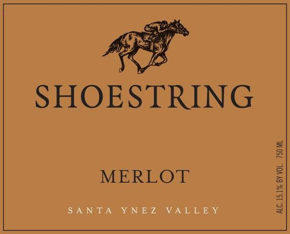 Shoestring Winery Merlot 2006 Front Label