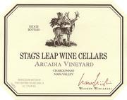 Stag's Leap Wine Cellars Arcadia Chardonnay 2001 Front Label