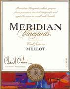 Meridian Merlot (half-bottle) 2000 Front Label