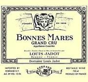 Louis Jadot Bonnes-Mares Grand Cru 1999 Front Label