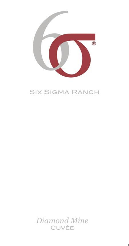 Six Sigma Ranch Diamond Mine Cuvee 2010 Front Label