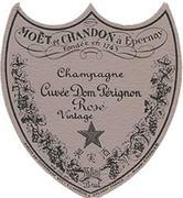 Dom Perignon Rose with Gift Box 1993 Front Label