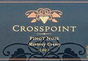 Crosspoint Paso Robles Pinot Noir 2001 Front Label