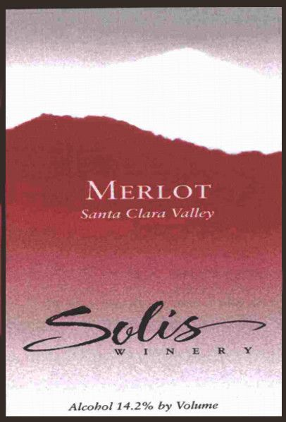 Solis Winery Estate Merlot 2006 Front Label