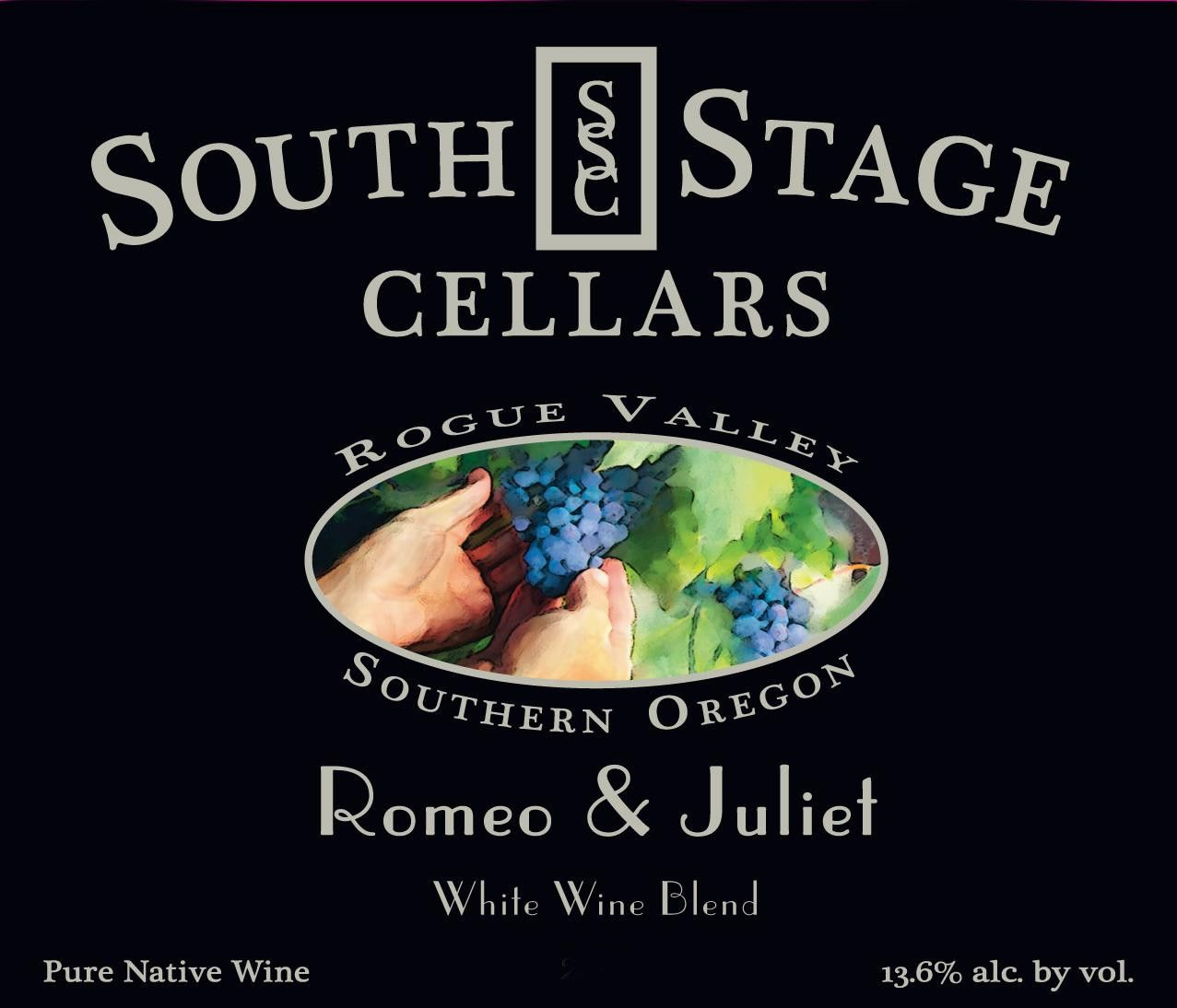 South Stage Cellars Romeo  Juliet 2013 Front Label