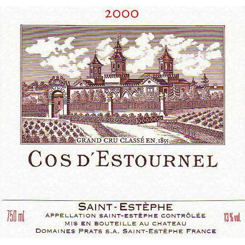 Chateau Cos d'Estournel  2000 Front Label