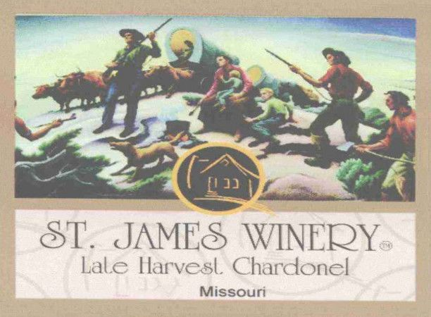 St James Winery Late Harvest Chardonel 2005 Front Label