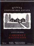 Wynns Coonawarra Estate Black Label Cabernet Sauvignon 1996 Front Label