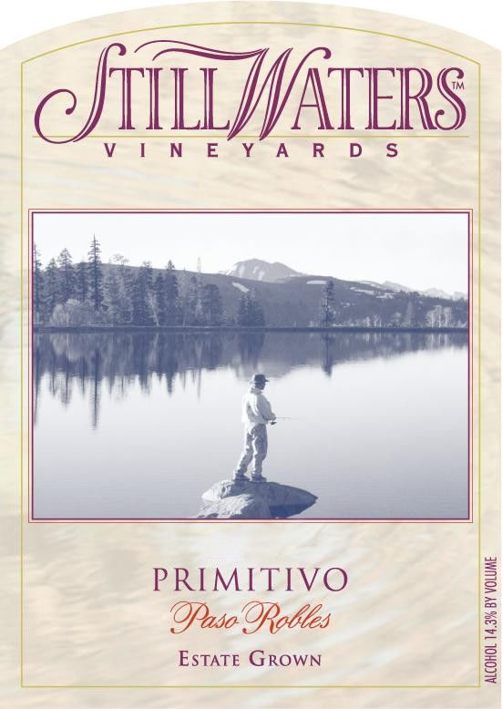 Still Waters Vineyards Primitivo 2011 Front Label