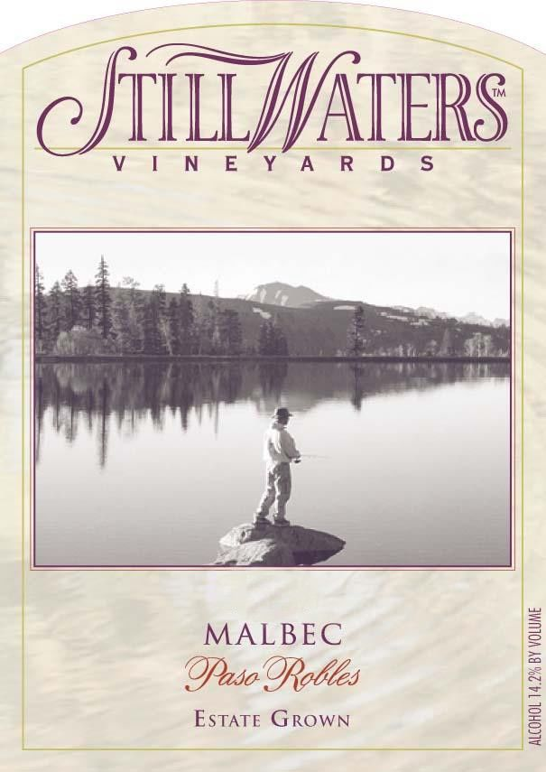 Still Waters Vineyards Malbec 2010 Front Label