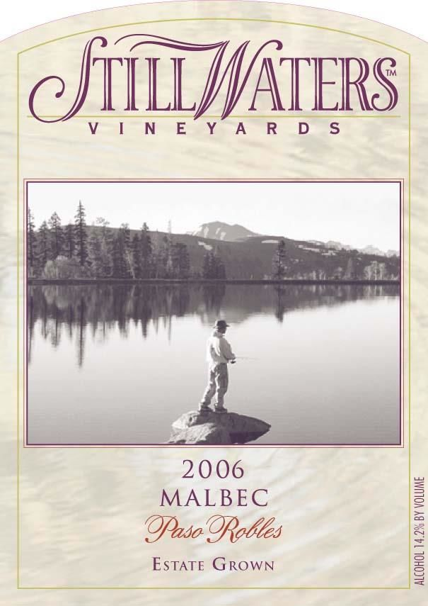 Still Waters Vineyards Malbec 2006 Front Label