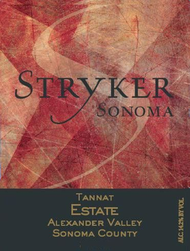 Stryker Sonoma Estate Tannat 2013 Front Label
