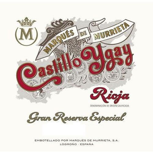 Marques de Murrieta Castillo Ygay Gran Reserva 1994 Front Label