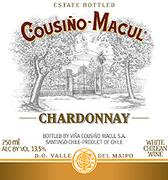 Cousino Macul Chardonnay 2002 Front Label