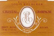 Louis Roederer Cristal Rose 1996 Front Label