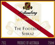 d'Arenberg The Footbolt Shiraz 2001 Front Label