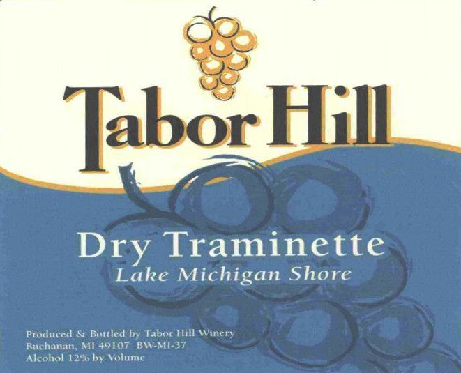 Tabor Hill Winery & Restaurant Traminette 2005 Front Label