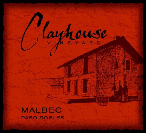 Clayhouse Malbec 2010 Front Label