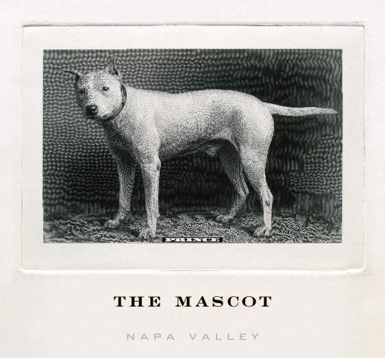 The Mascot  2012 Front Label