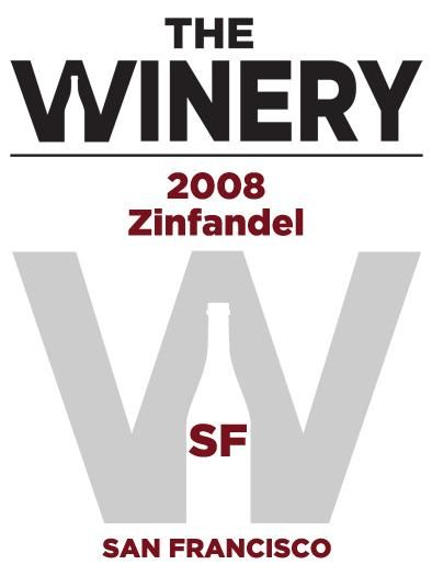 The Winery SF Zinfandel 2008 Front Label