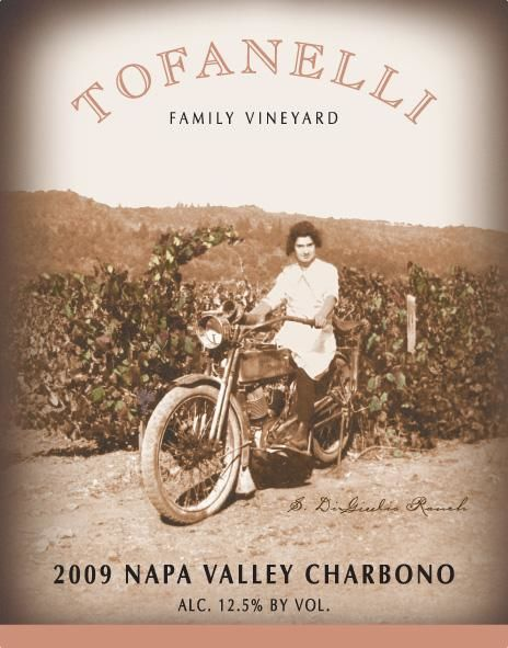 Tofanelli Family Vineyard Charbono 2009 Front Label