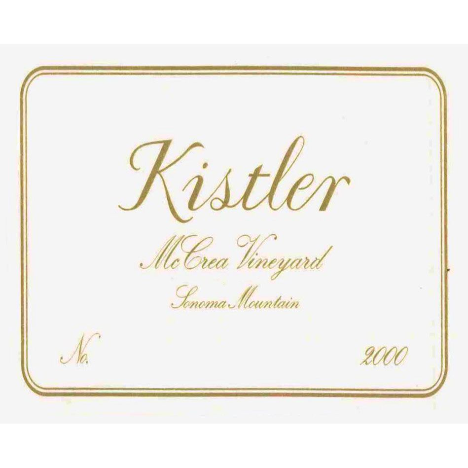Kistler Vineyards McCrea Chardonnay 2000 Front Label