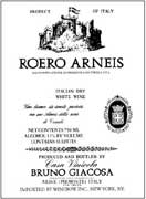 Bruno Giacosa Roero Arneis 2002 Front Label