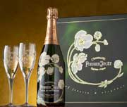 Perrier-Jouet Belle Epoque Glass Set 1996 Front Label
