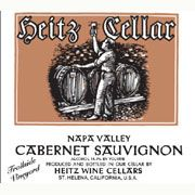 Heitz Cellar Trailside Vineyard Cabernet Sauvignon 1998 Front Label