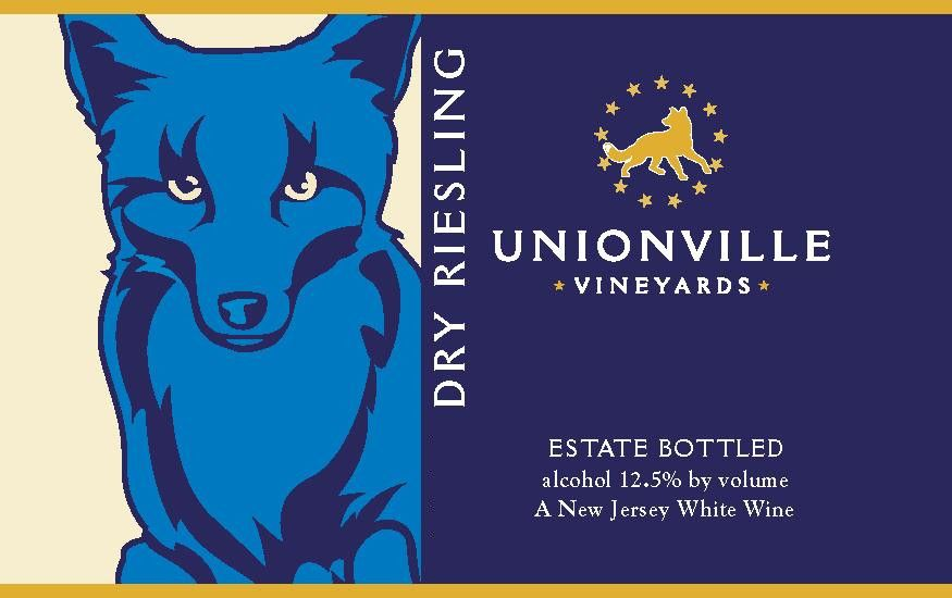 Unionville Vineyards Dry Riesling 2007 Front Label