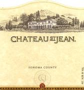 Chateau St. Jean Chardonnay 1998 Front Label