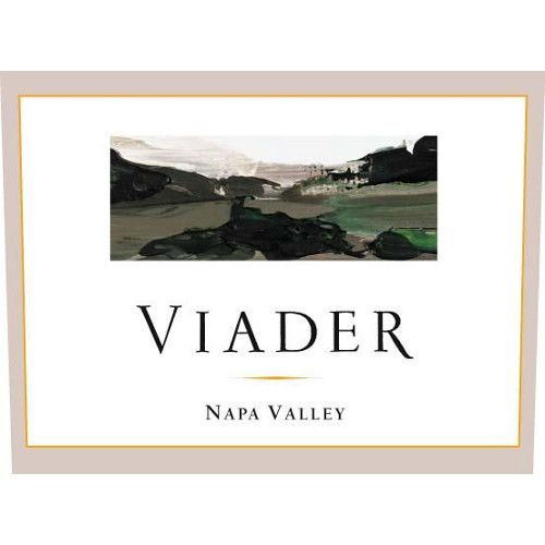 Viader Proprietary Red 2001 Front Label